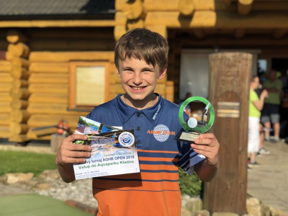 Vítěz kategorie Juniorů Matěj Vlček