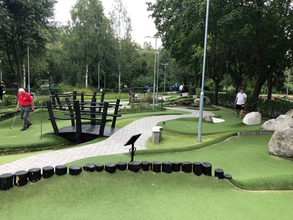 Hřiště klubu Sundbybergs BGK
